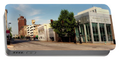 Downtown Huntington West Virginia Portable Battery Charger by L O C