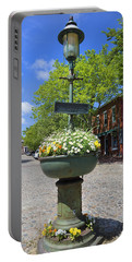 Downtown Nantucket - Garden View 46y Portable Battery Charger