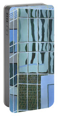 Downtown Reflections Portable Battery Charger by Alika Kumar