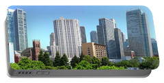 Portable Battery Charger featuring the photograph Downtown San Fransisco by Mike McGlothlen