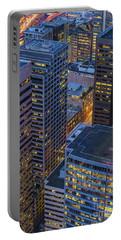 Downtown Seattle Buildings Details Portable Battery Charger