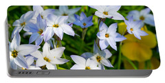 Downtown Wildflowers Portable Battery Charger