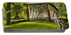 Dr. Knisely Covered Bridge Lush Landscape Portable Battery Charger