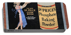 Dr. Prices Phosphate Baking Powder On Brick Portable Battery Charger