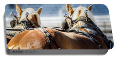 Draft Horses Ready Portable Battery Charger