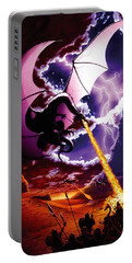 Dragon Attack Portable Battery Charger by The Dragon Chronicles - Steve Re
