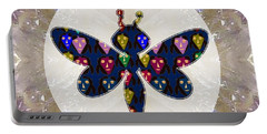 Dragon Fly Cute Painted Face Cartons All Over Donwload Option Link Below Personl N Commercial Uses Portable Battery Charger by Navin Joshi