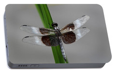 Portable Battery Charger featuring the photograph Dragon Fly by Jerry Battle