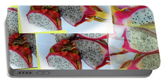 Dragon Fruit Collage Portable Battery Charger