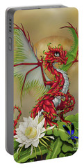 Dragon Fruit Dragon Portable Battery Charger by Stanley Morrison