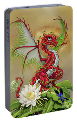 Portable Battery Charger featuring the digital art Dragon Fruit Dragon by Stanley Morrison