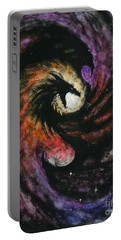 Dragon Galaxy Portable Battery Charger by Stanley Morrison