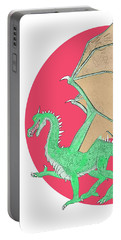 Dragon Illustration 1 Portable Battery Charger