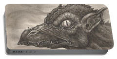 Dragon Portrait No. 2 Portable Battery Charger