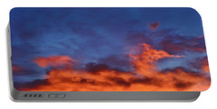 Portable Battery Charger featuring the photograph Dragon Sunrise by Diane Alexander