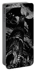 Dragon Tower Portable Battery Charger by Stanley Morrison