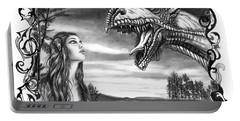 Dragon Whisperer  Portable Battery Charger by Peter Piatt