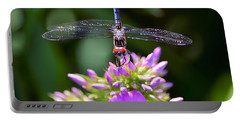 Dragonfly And Phlox Portable Battery Charger