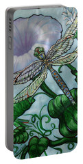 Dragonfly In Sun Portable Battery Charger