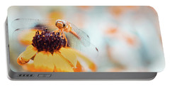 Dragonfly In The Garden Portable Battery Charger