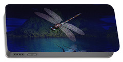 Dragonfly Night Reflections Portable Battery Charger
