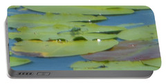 Dragonfly On Lily Pad Portable Battery Charger