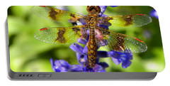 Portable Battery Charger featuring the photograph Dragonfly by Sandi OReilly