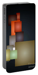 Dramatic Abstract Portable Battery Charger by Rafael Salazar