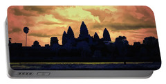 Dramatic Angkor Wat  Portable Battery Charger