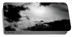 Dramatic Clouds Portable Battery Charger