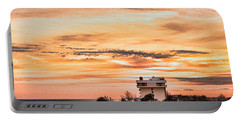 Dramatic Sunset Portable Battery Charger