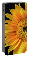 Dramatic Yellow Sunflower Portable Battery Charger