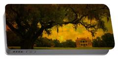 Drayton Hall Plantation In Charleston Portable Battery Charger