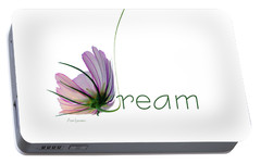 Portable Battery Charger featuring the digital art Dream by Ann Lauwers