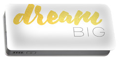Dream Big Portable Battery Charger