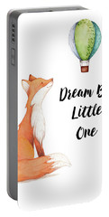 Portable Battery Charger featuring the digital art Dream Big Little One by Colleen Taylor