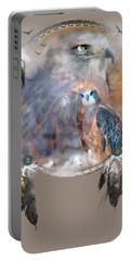 Dream Catcher - Hawk Spirit Portable Battery Charger