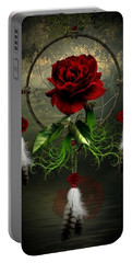 Dream Catcher Rose Portable Battery Charger