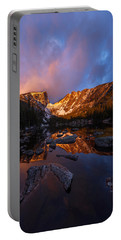 Portable Battery Charger featuring the photograph Dream Glow by Dustin LeFevre
