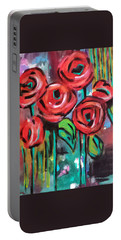 Dream Roses Portable Battery Charger