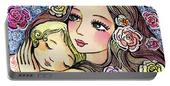 Dreaming In Roses Portable Battery Charger