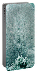 Portable Battery Charger featuring the photograph Dreaming Of A White Christmas - Winter In Switzerland by Susanne Van Hulst