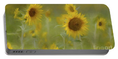 Portable Battery Charger featuring the photograph Dreaming Of Sunflowers by Benanne Stiens