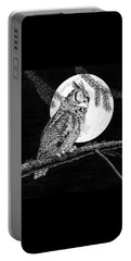 Dreaming Of The Night Portable Battery Charger