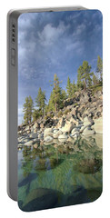 Portable Battery Charger featuring the photograph Dreaming Pond by Sean Sarsfield