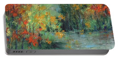 Dreams Of Autumn #1 Paradise On Pontchartrain Portable Battery Charger by Robin Miller-Bookhout