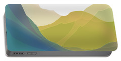 Portable Battery Charger featuring the digital art Dreamscape by Gina Harrison