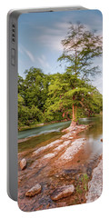 Dreamy Bald Cypress At Guadalupe River - Canyon Lake Texas Hill Country Portable Battery Charger