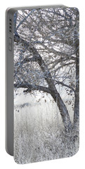 Portable Battery Charger featuring the photograph Dreamy Bosque Tree by Andrea Hazel Ihlefeld
