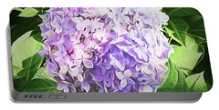 Dreamy Hydrangea Portable Battery Charger